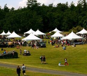 The 2011 ICC Food Fest at Fort Rodd Hill, credit: Maryanne Carmack