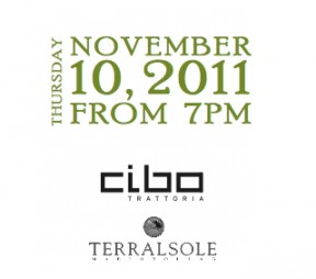 Wine Makers Dinner with Terralsole Winery