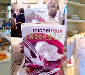 Michel Roux at The London Chef