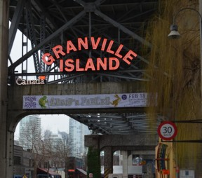 The entrance to Granville Market. Photos by Ellie Shortt