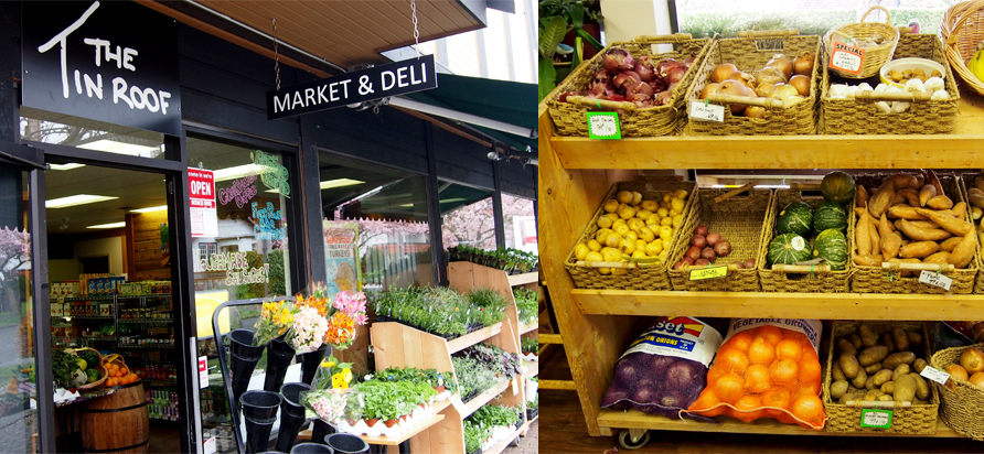 The Tin Roof Market & Deli. Photos by Deanna Ladret