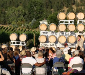 Theatre in the Vines at Township 7 Winery.
