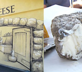 Upper Bench Winery and Creamery. Upper Bench Grey Baby cheese