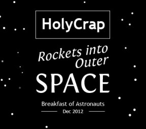 Local Cereal Company Holy Crap rockets to the International Space Station