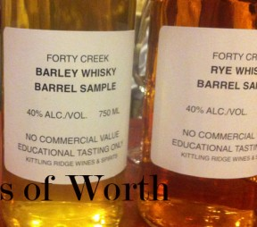 Spirits of Worth – Forty Creek Whisky