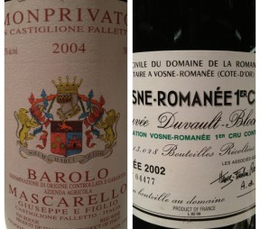 Somm in the City: Burgundy & Barolo