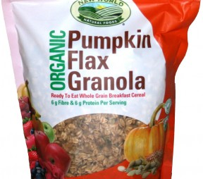 Good For You: New World Pumpkin Flax Granola