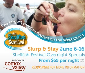7th BC Shellfish Festival launches Thursday, June 6