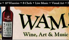 WAM! Wine Art & Music June 15