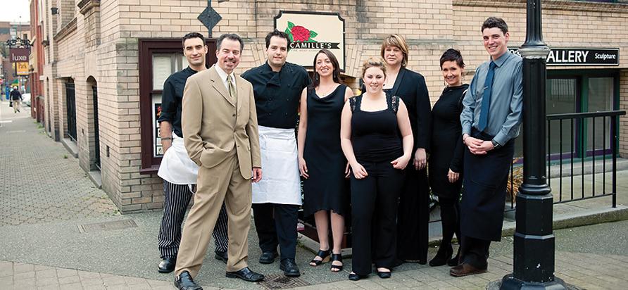 Camille S Restaurant Victoria Bc