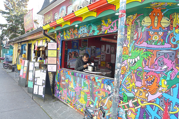 Colourful Kensingston Market is worth a walk round.
